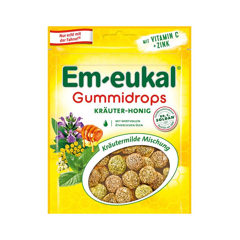 Em-eukal Gummidrops  Kräuter-Honig Mischung
