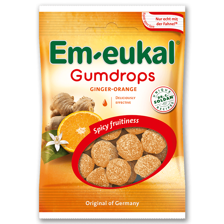 Em-eukal  Gumdrops GINGER-ORANGE