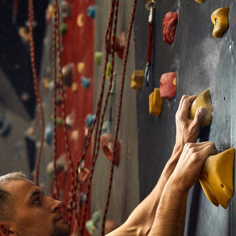 Klettern mit Gummidrops