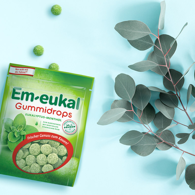 Koala-Moment mit Em-eukal Gummidrops