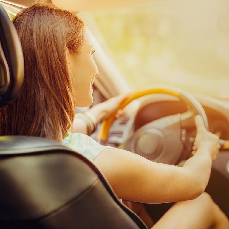 Meine Autofahrt