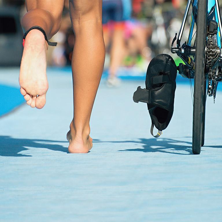 Triathlon mit Gummidrops