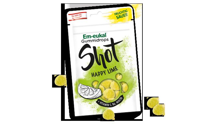 Em-eukal Gummidrops Happy Lime
